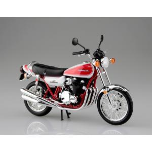 KAWASAKI 750RS(Z2)赤白カラー 1/12 完成品バイク #完成品 aoshima-bk