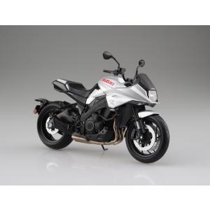 [予約特価7月発送予定]SUZUKI GSX-S1000S KATANA メタリックミスティックシルバー 1/12 完成品バイク   #完成品|aoshima-bk