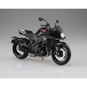 [予約特価7月発送予定]SUZUKI GSX-S1000S KATANA グラススパークルブラック 1/12 完成品バイク   #完成品|aoshima-bk