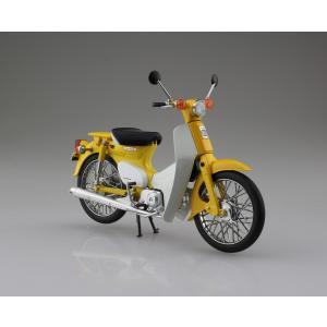 Honda スーパーカブ50 イエロー(オンラインショップ・各イベント限定商品) 1/12 完成品バイク   #完成品|aoshima-bk