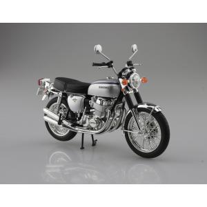 Honda CB750FOUR(K2) シルバー  1/12 完成品バイク  #完成品