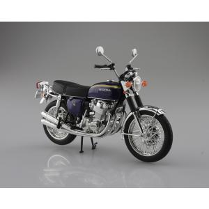 [予約特価10月発送予定]Honda CB750FOUR(K2) パープル  1/12 完成品バイク  #完成品 aoshima-bk