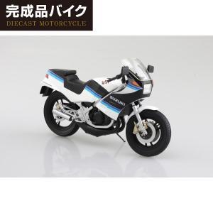 [予約特価11月発送予定]SUZUKI RG250Γ ブルー×ホワイト 1/12 完成品バイク    #プラモデル