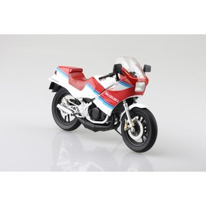 SUZUKI RG250Γ レッド×ホワイト 1/12 完成品バイク    #完成品バイク|aoshima-bk