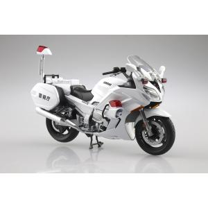 [予約特価12月再生産予定]YAMAHA FJR1300P 白バイ(警視庁)1/12 完成品バイク #完成品 aoshima-bk