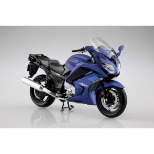YAMAHA FJR1300A マッドダークパープリッシュブルーメタリック1  1/12  完成品バイク    #完成品 aoshima-bk