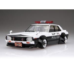 LBワークス ケンメリ 4Dr パトカー 1/24 リバティーウォーク No.07 #プラモデル|aoshima-bk
