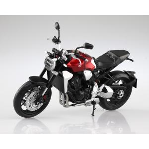 [予約特価10月発送予定]HONDA CB1000R クロモスフィアレッド 1/12 完成品バイク #完成品|aoshima-bk