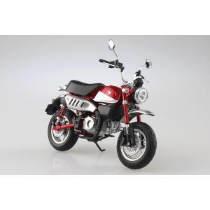 [予約2021年11月発送予定]Honda Monkey 125(パールネビュラレッド)1/12 完...