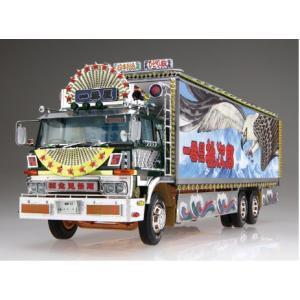 一番星 度胸一番星 1/32 トラック野郎 No.07 #プラモデル|aoshima-bk|02