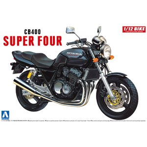 Honda CB400SF (ブラック)  1/12 バイク No.09 #プラモデル|aoshima-bk