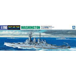 戦艦 ワシントン 1/700 ウォーターライン No.612 #プラモデル|aoshima-bk