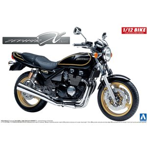 Kawasaki ZEPHYRχ ゼファーχ(カイ) 2002モデル  1/12 バイク No.07 #プラモデル|aoshima-bk