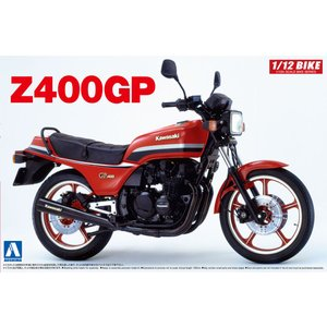 Kawasaki Z400GP 1982 1/12 バイク No.27 #プラモデル|aoshima-bk