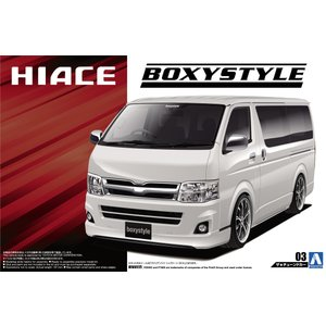 1/24 boxystyle TRH200V ハイエース スーパーGL '10 ザ・チューンドカー No.3 #プラモデル|aoshima-bk