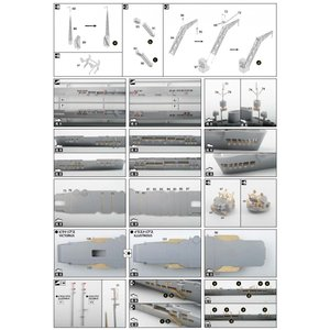 英国海軍 航空母艦 イラストリアス エッチングパーツセット 1/700 WLディティールアップパーツ #プラモデル|aoshima-bk|03