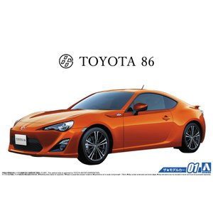 1/24 トヨタ ZN6 TOYOTA86 '12 ザ・モデルカー No.1 #プラモデル|aoshima-bk