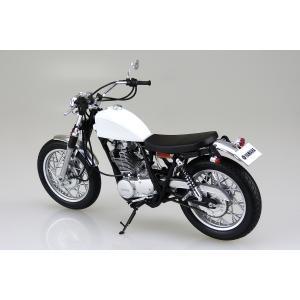 YAMAHA SR400S カスタムパーツ付 1/12 バイク No.11 #プラモデル aoshima-bk 03