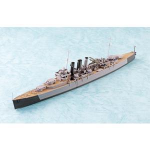 英国海軍 重巡洋艦ドーセットシャー 1/700 ウォーターライン No.808  #プラモデル|aoshima-bk|02