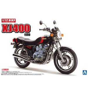ヤマハ XJ400 1/12 バイク No.39 #プラモデル|aoshima-bk