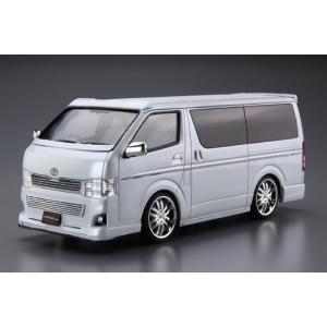 1/24 シルクブレイズ TRH200Vハイエース VerIII '10(トヨタ) ザ・チューンドカー No.28 #プラモデル|aoshima-bk|02