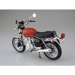 ホンダ ホークII CB400T 1/12 バイク No.42 #プラモデル aoshima-bk 03
