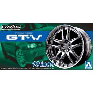 1/24 ボルクレーシング GT-V 19インチ 19インチ ザ・チューンドパーツ No.71 #プラモデル|aoshima-bk
