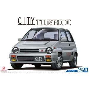 1/24 ホンダ AA シティターボII '85 ザ・モデルカー No.60 #プラモデル|aoshima-bk
