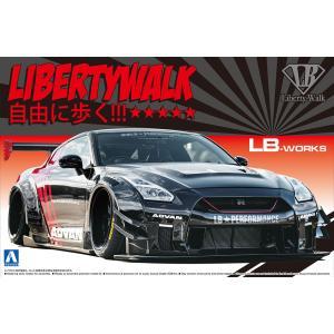 LB★ワークス R35 GT-R type 2 Ver.2 1/24 リバティーウォーク No.13  #プラモデル|aoshima-bk