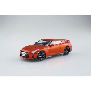 [予約特価3月再生産予定]NISSAN GT-R(アルティメイトシャイニーオレンジ)  1/32 ザ・スナップキット No.7-A    #プラモデル|aoshima-bk|02