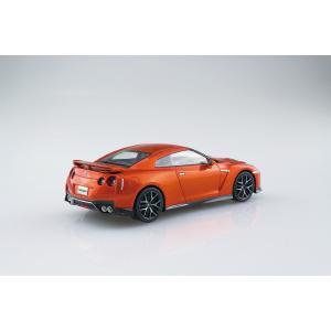 [予約特価3月再生産予定]NISSAN GT-R(アルティメイトシャイニーオレンジ)  1/32 ザ・スナップキット No.7-A    #プラモデル|aoshima-bk|03