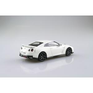 [予約特価3月再生産予定]NISSAN GT-R(ブリリアントホワイトパール) 1/32 ザ・スナップキット No.7-B   #プラモデル aoshima-bk 03