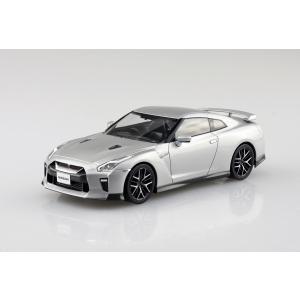 NISSAN GT-R(アルティメイトメタルシルバー) 1/32 ザ・スナップキット No.7-D    #プラモデル|aoshima-bk|02
