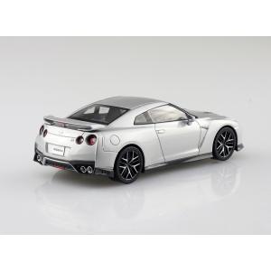 NISSAN GT-R(アルティメイトメタルシルバー) 1/32 ザ・スナップキット No.7-D    #プラモデル|aoshima-bk|03