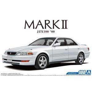 [予約特価7月再生産予定]1/24 トヨタ JZX100 マークII ツアラーV '00 ザ・モデルカー No.100 #プラモデル|aoshima-bk