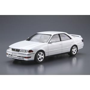 [予約特価7月再生産予定]1/24 トヨタ JZX100 マークII ツアラーV '00 ザ・モデルカー No.100 #プラモデル|aoshima-bk|02