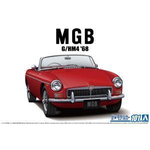 [予約特価12月発送予定]1/24 BLMC G/HM4 MG-B MK-2 '68 1/24 ザ・モデルカー No.101  #プラモデル