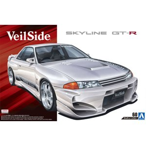 [予約特価2月発送予定]1/24 VeilSide コンバットモデル BNR32 スカイライン GT-R '90(ニッサン) ザ・チューンドカー No.60   #プラモデル