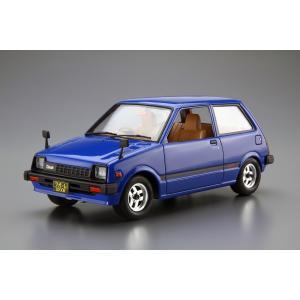 [予約特価9月発送予定]スバル KM1 レックス/ダイハツ L55S クオーレ '81  1/20 ザ・モデルカー No.SP  #プラモデル|aoshima-bk|02