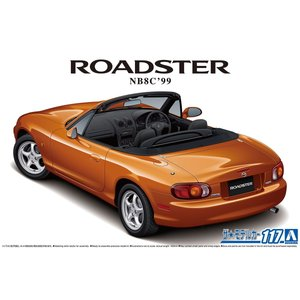 [予約特価10月発送予定]マツダ NB8C ロードスター RS '99 1/24 ザ・モデルカー No.117    #プラモデル aoshima-bk