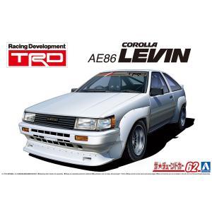 TRD AE86 カローラレビン N2仕様 '83(トヨタ) 1/24 ザ・チューンドカー No.62    #プラモデル|aoshima-bk
