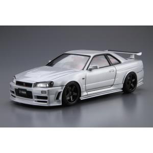 1/24 ニスモ BNR34 スカイラインGT-R Z-tune '04 ザ・モデルカー No.34 #プラモデル|aoshima-bk|02