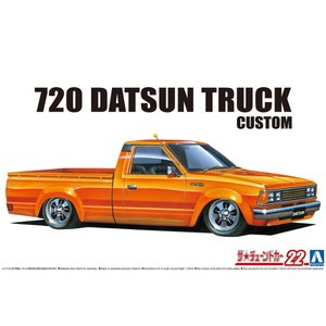 [予約特価11月発送予定]1/24 720 ダットサン トラック カスタム '82(ニッサン) ザ・チューンドカー No.22 #プラモデル