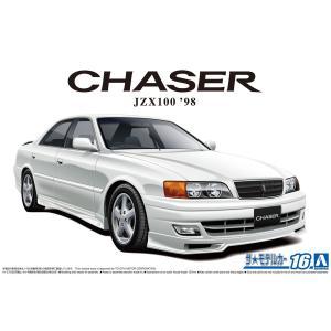 トヨタ JZX100 チェイサーツアラーV '98 1/24 ザ・モデルカー No.16    #プラモデル|aoshima-bk