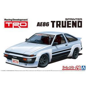 [予約特価11月再生産予定]TRD AE86トレノ N2仕様 '85(トヨタ) 1/24 ザ・チューンドカー No.29 #プラモデル|aoshima-bk