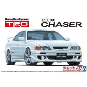 TRD JZX100 チェイサー '98(トヨタ) 1/24 ザ・チューンドカー No.47  #プラモデル|aoshima-bk