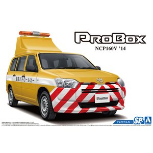 トヨタ NCP160V プロボックス '14 道路パトロールカー 1/24 ザ・モデルカー No.SP   #プラモデル|aoshima-bk