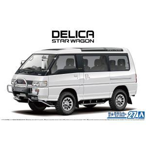 [予約特価11月発送予定]ミツビシ P35W デリカスターワゴン '91 1/24 ザ・モデルカー No.27   #プラモデル|aoshima-bk
