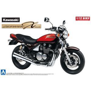 [予約特価12月発送予定]カワサキ ZEPHYRχファイナルエディション 1/12 バイク No.29  #プラモデル|aoshima-bk