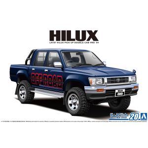 トヨタ LN107 ハイラックス ピックアップ ダブルキャブ4WD '94 1/24 ザ・モデルカー No.20   #プラモデル|aoshima-bk